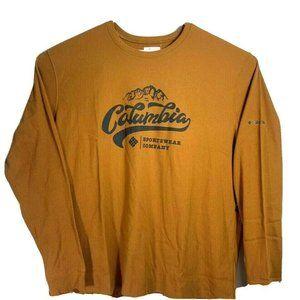 Columbia Mens Ketring Long Sleeve Graphic Shirt
